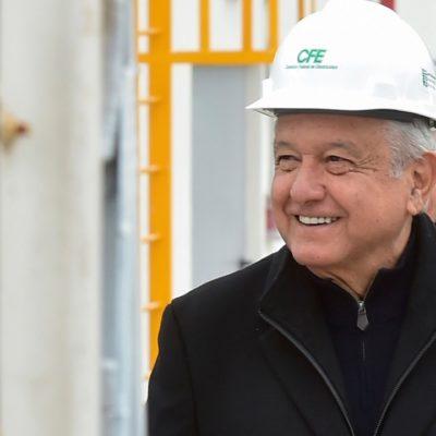 Advierte AMLO que si la Iniciativa Privada no invierte en energía lo hará la propia CFE