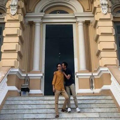 Convocan al 'Besatón' en las escaleras del Palacio Cantón de Mérida en apoyo a la diversidad sexual