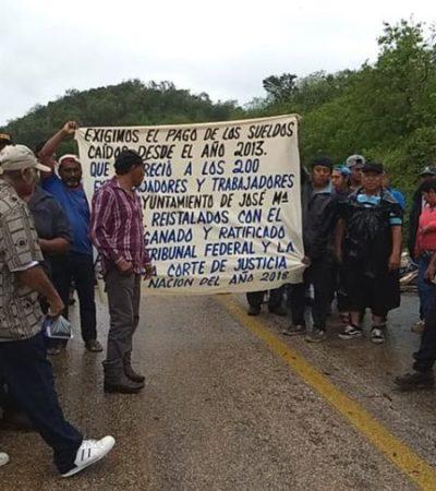 El bloqueo más largo en la historia de Quintana Roo, o de la estupidez de un Ayuntamiento de la zona maya | Por Gilberto Avilez Tax