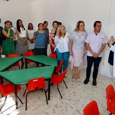 Pone Gobernador en servicio el centro de habilidades para la vida diaria del Centro de Autismo de Quintana Roo