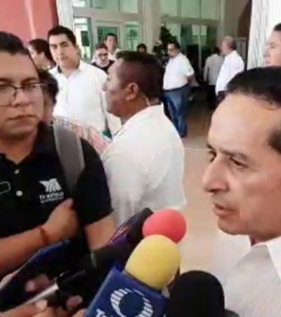 Continuará la recuperación de bienes y recursos que se fueron, advierte Carlos Joaquín tras nueva vinculación a proceso de Borge por peculado