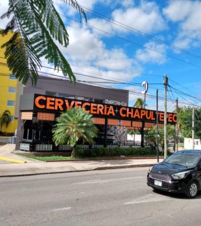 La franquicia de Cervecería Chapultepec llegó a Mérida a competirle a las tradicionales cantinas yucatecas