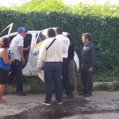 Choque entre taxi y automóvil deja cuatro lesionados en Chetumal