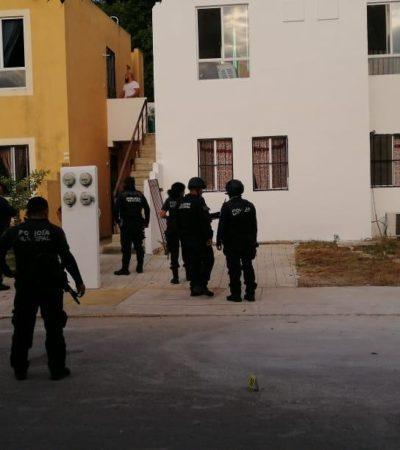 Disparan contra casa en Villas del Sol