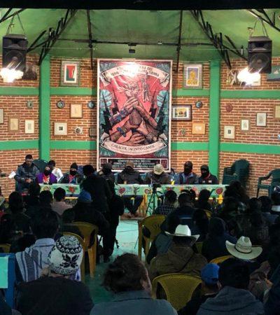 Plantan cara zapatistas a lo que llaman la 'Cuarta Aniquilación'; promueven autonomía de los pueblos