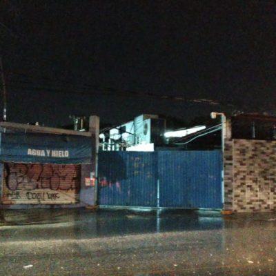 Reportan otra vez fuga de amoniaco en fábrica de hielo en Cancún