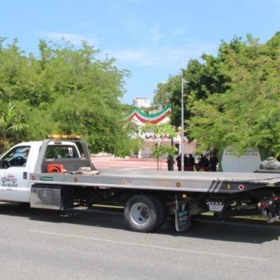 Buscan que empresas de grúas apliquen nuevas tarifas mientras el Ayuntamiento de BJ adquiere unidades para prestar el servicio