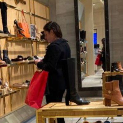 ˈCachanˈ a Ana Guevara de compras en Polanco en horario laboral y a 20 km de la Conade