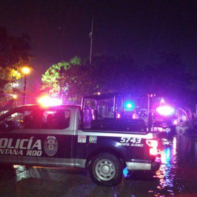 ATACAN A POLICÍAS MILITARES: Un muerto y dos heridos en balacera en la Región 236 de Cancún