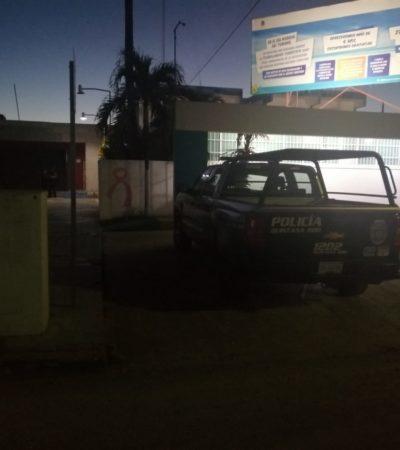 LADRONES SE LLEVAN SU 'NAVIDAD': Roban cajero automático en Chetumal