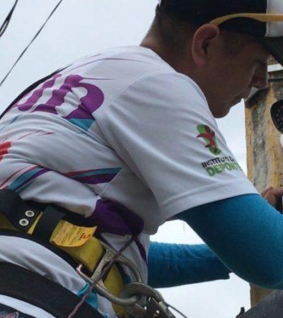 Copia regidor viejo modelo de reciclaje a cambio de kits de seguridad para colonias de Cancún