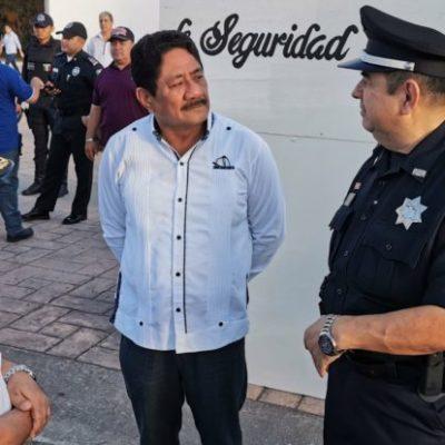 Califica Otoniel Segovia como 'hecho fortuito' ejecución a balazos de dos hombres en la comunidad de 'Andrés Quintana Roo'