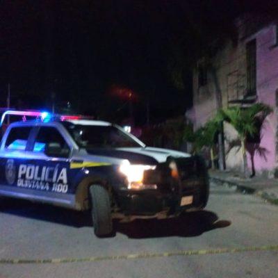 Hieren con arma de fuego a dos sujetos en la Región 238 de Cancún
