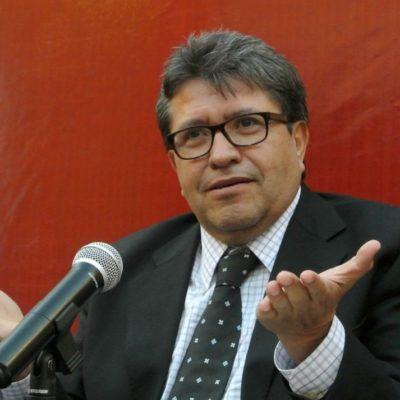 ¿DE REVERSA?: Pide Monreal frenar reforma al outsourcing, ya aprobada en comisiones