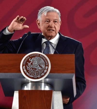 Rechaza AMLO cambio en plan de seguridad; adversarios promueven políticas 'fascistoides', dice