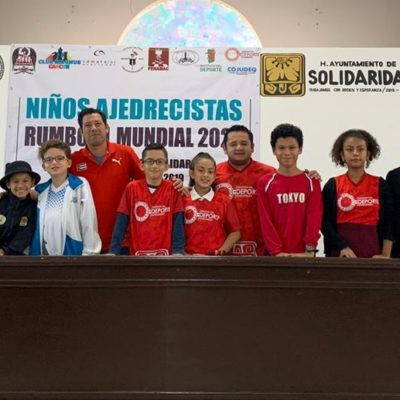 Niños de Playa del Carmen y Cancún clasifican al Mundial de Ajedrez en Europa