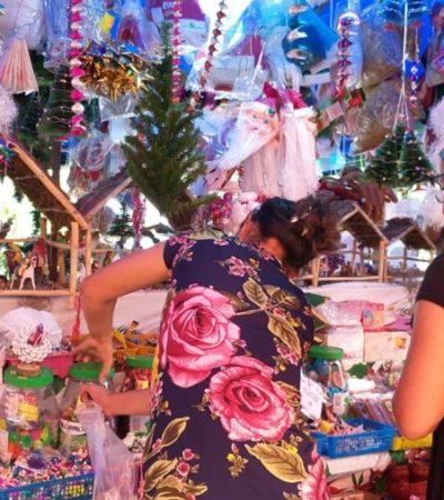 Incrementan ventas en el Mercado 23 por festejo de la Virgen de Guadalupe y Navidad