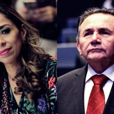 """AMBICIOSOS DESMEDIDOS BUSCAN ATRACAR A MORENA"": En pleito de senadores del partido de AMLO, critica José Luis Pech el 'ostentoso informe' de Marybel Villegas"