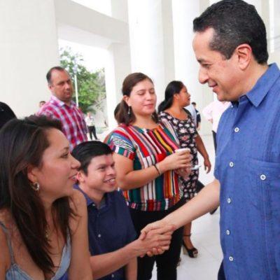Destaca Carlos Joaquín puesta en marcha en 2019 de plataformas digitales para reducir los márgenes de discrecionalidad y cerrar los espacios para la corrupción en el gobierno
