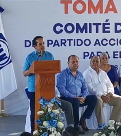 Rompeolas | Asume Carlos Joaquín el mando del PAN-QR… y de su sucesión