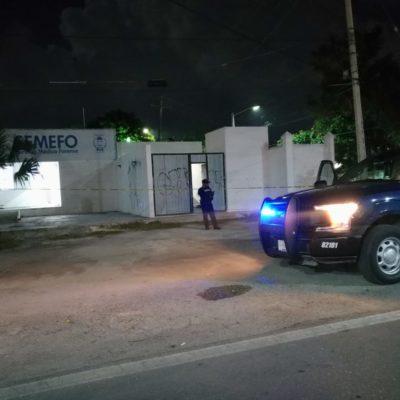 Entra sujeto a robar al Servicio Médico Forense de Playa del Carmen