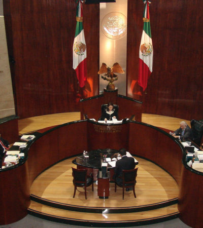 TAMBALEA TRIFE LA 'LEY BONILLA': Consideran siete magistrados que 'regalazo' al Gobernador de Morena es inconstitucional