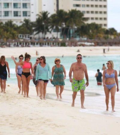 Esperan la llegada de 450 mil visitantes y una ocupación mayor a 90% en Cancún durante periodo vacacional de invierno