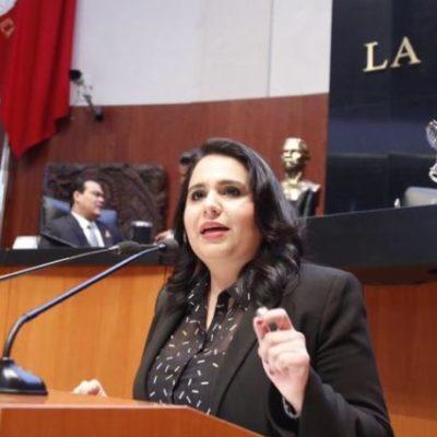 Advierte la senadora Mayuli Martínez persecución política contra empresarios y comerciantes por parte del SAT