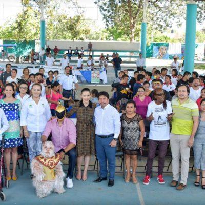 Asegura Alcalde que en Tulum existe el compromiso de atender a ciudadano y visitantes con discapacidad y fomentar la inclusión