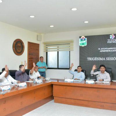 Aprueba Cabildo de Tulum modificaciones al Programa Operativo Anual para construcción de obra pública