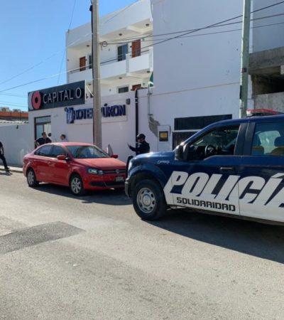 Disparan contra fachada de hotel en la colonia Ejido de Playa del Carmen