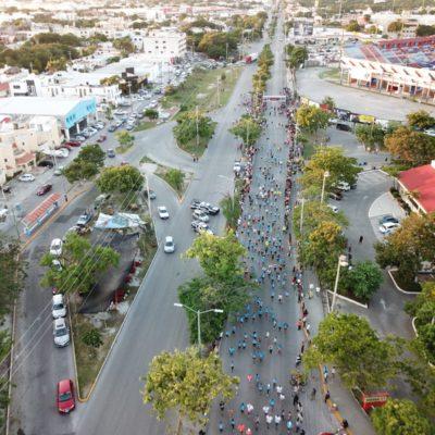 Maratón de Cancún regresa a avenidas del centro y genera molestia y caos vehicular