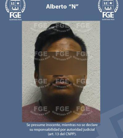 Detienen en Playa del Carmen a un hombre acusado de violar a una mujer en Puerto Morelos