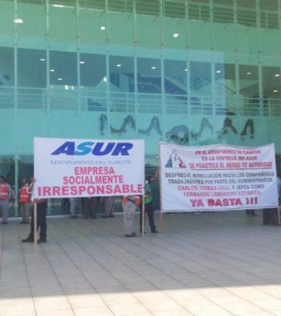 Preocupa a Carlos Joaquín que paro laboral de empleados de Asur afecte operaciones en el Aeropuerto de Cancún