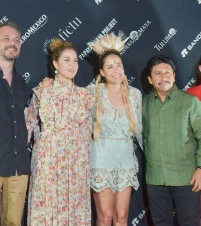Clausuran Festival Internacional de Cine Tulum 2019