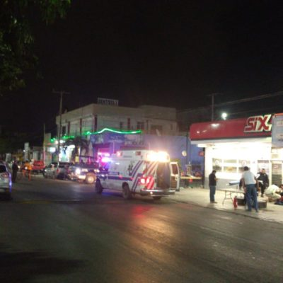 Tirotean a un vendedor de pirotecnia en la Región 96 de Cancún