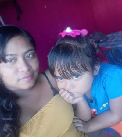 Padre de familia pide ayuda para localizar a su esposa e hija desaparecidas el domingo en Playa del Carmen