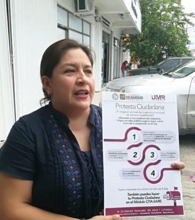 """Emprendedores podrán denunciar malas prácticas en trámites municipales con el programa """"Protesta Ciudadana"""" en el módulo del SARE en Playa del Carmen"""