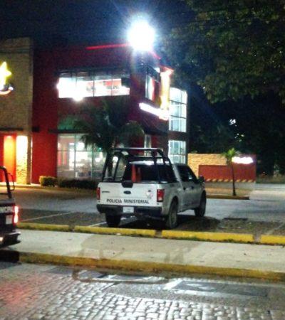 SEGUIMIENTO | DE COCINERO A ASALTANTE: Confirman detención de un presunto delincuente tras asalto nocturno al restaurante Carl's Jr de Cancún