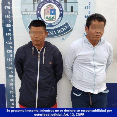 SEGUIMIENTO | Presentan a dos los dos presuntos sicarios que ejecutaron a una pareja en la cocktelería 'La Coyotita' de Cancún