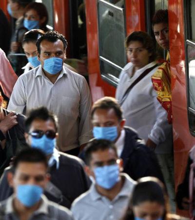 Se concentran casos de influenza en el sureste y centro de México