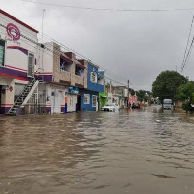 Lluvias provocan 60% de ausentismo escolar en José María Morelos