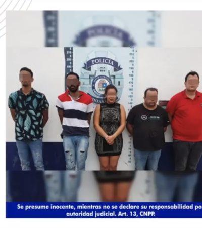 CAE LA BANDA DEL ROLEX: Detienen a cinco integrantes de grupo delincuencial dedicado al robo de relojes de lujo y tarjetas de crédito en Cancún