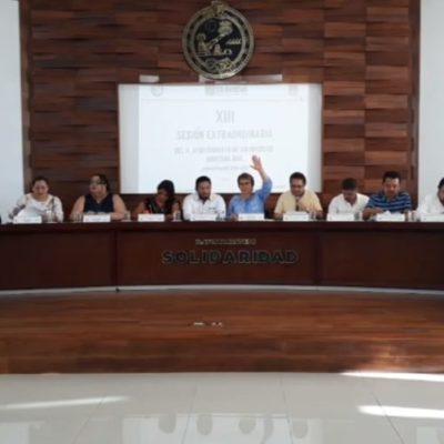 Aprueban regidores el Presupuesto de Egresos 2020 en Solidaridad