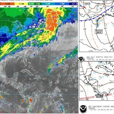 PRONÓSTICO DEL CLIMA: A pesar de la nubosidad, habrá calor en Quintana Roo