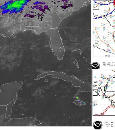 PRONÓSTICO DEL CLIMA: Bajan temperaturas en Quintana Roo