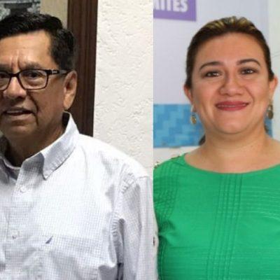 Designan a Joaquín González Castro, exsubsecretario jurídico de gobierno, y Angélica Chan, exdirectora del Registro Civil, miembros del Consejo de la Judicatura del Tribunal Superior de Justicia de QR