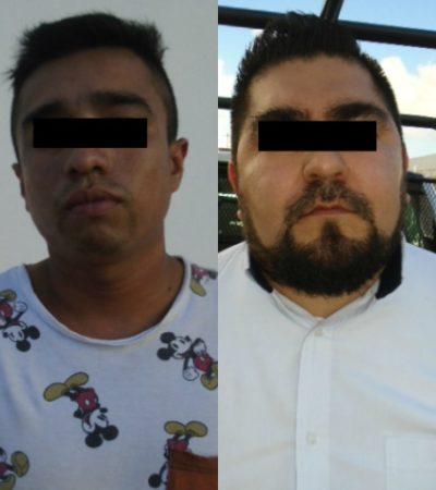 Detienen a hombres armados a bordo de un taxi en la Región 249 de Cancún