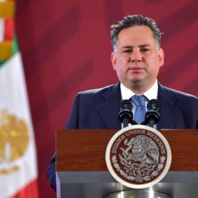 Confirma Inteligencia Financiera denuncias contra cuatro exgobernadores ante la Fiscalía General de la República