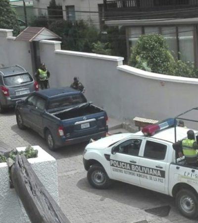 Acusa México sobrevuelo de drones en embajada en Bolivia; advierte SRE con acudir a tribunales internacionales